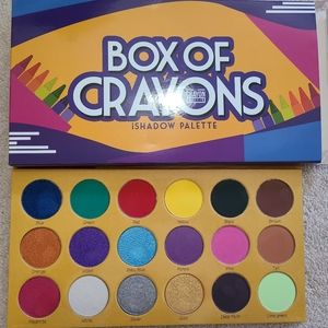 BOX OF CRAYON EYESHADOW PALETTE FOR SALE
